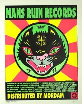 Man's Ruin poster