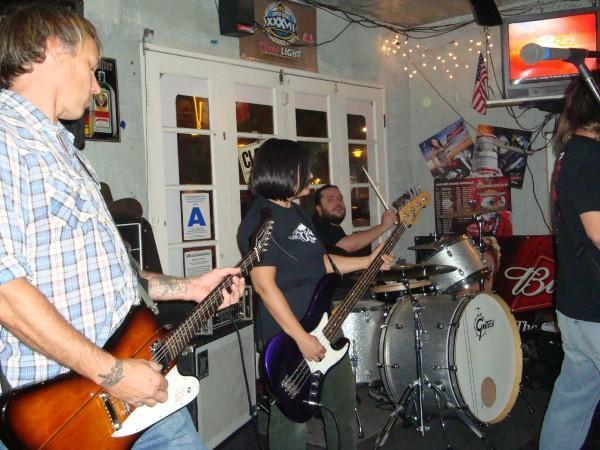 Dali's Llama, including new guitarist Joe Dillon.