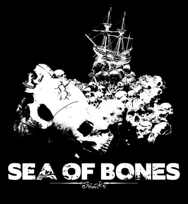 Sailing over the ocean dead.