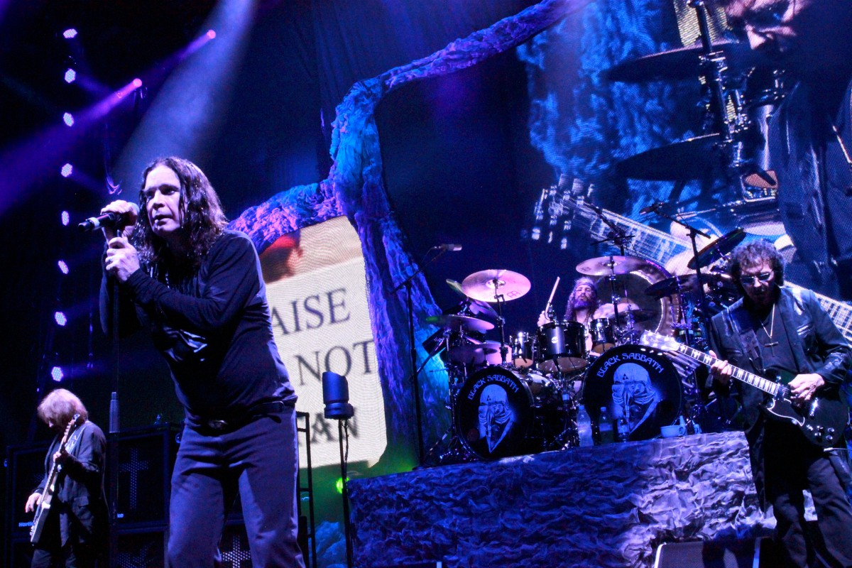 Black Sabbath (Photo by JJ Koczan)