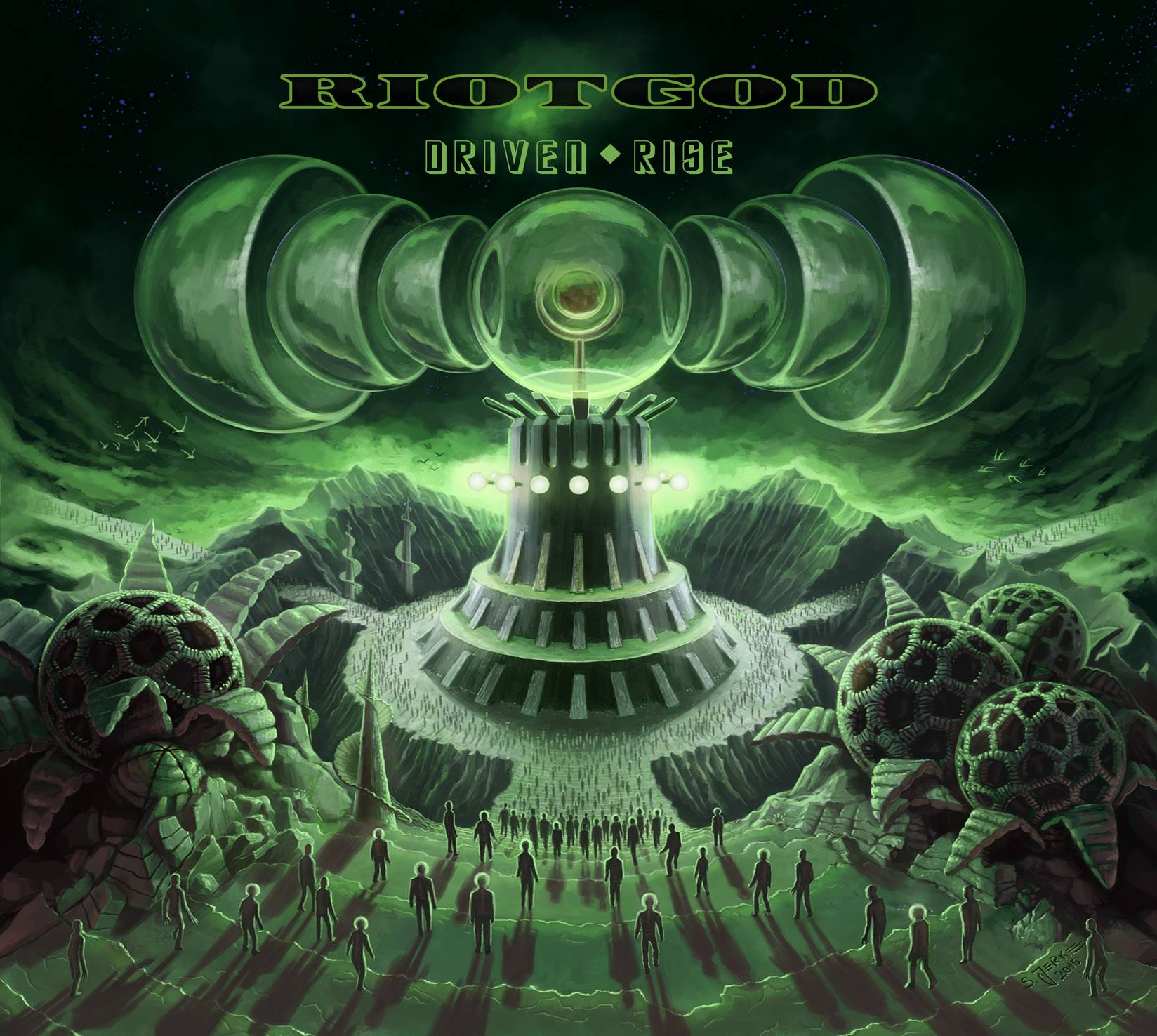 Rise To Power Monstrosity: RIOTGOD To Release 'Driven Rise' March 18 On Metalville