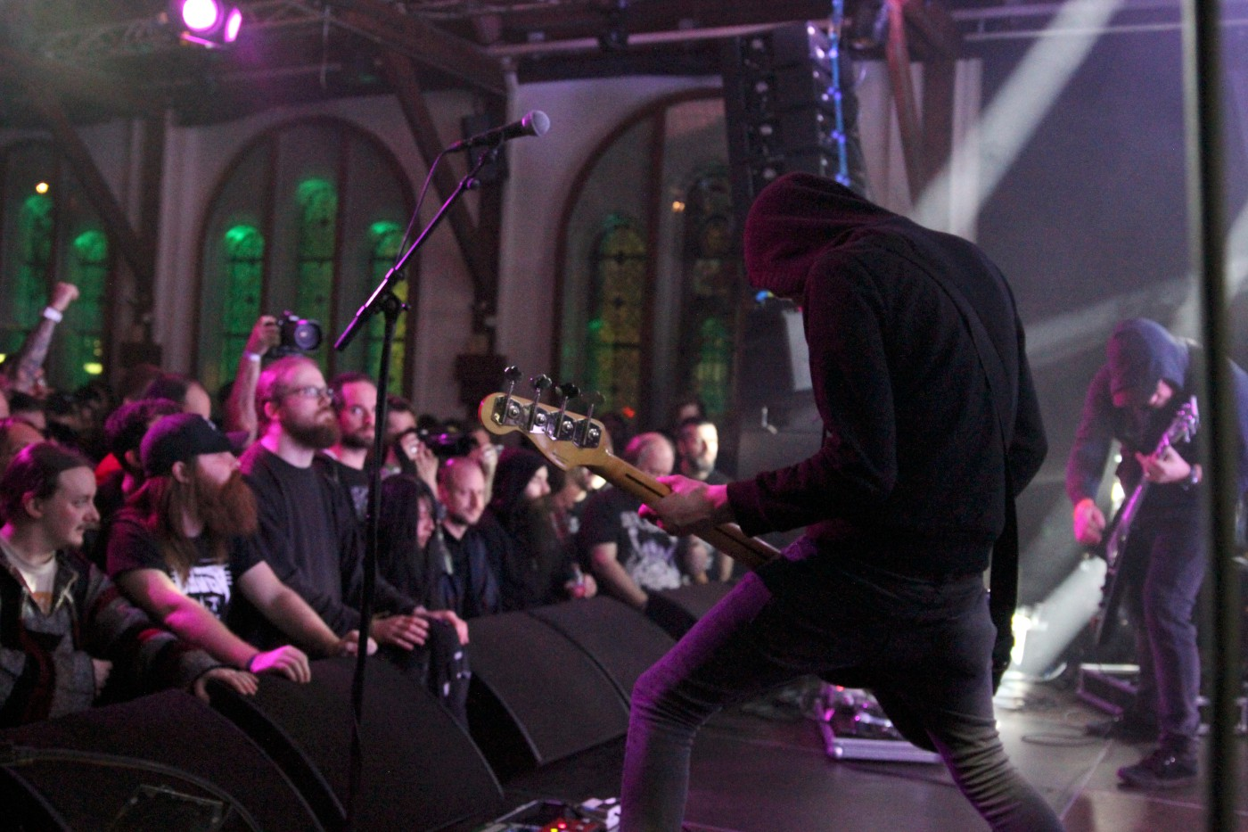 Conan at Roadburn 2014 (Photo by JJ Koczan)