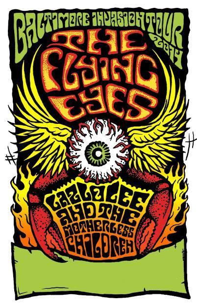 The Flying Eyes Announce Baltimore Invasion Euro Tour