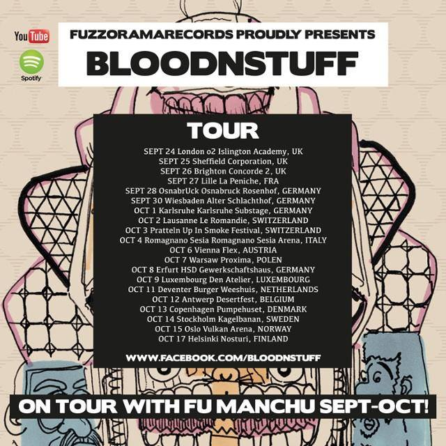 bloodnstuff fu manchu tour