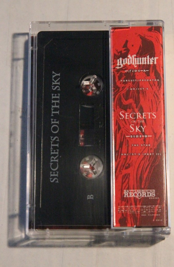 godhunter secrets of the sky tape