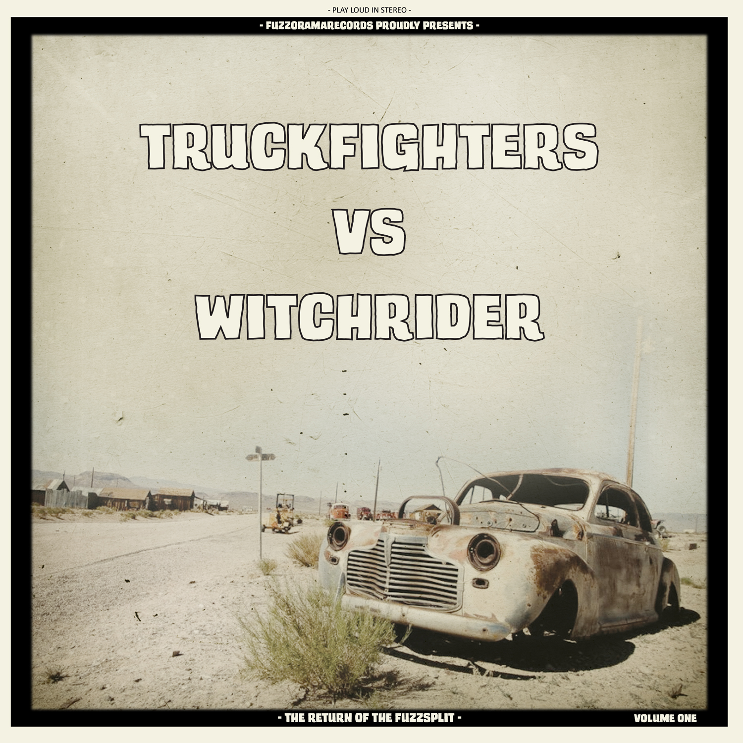 truckfighters vs witchrider the return of the fuzzsplit