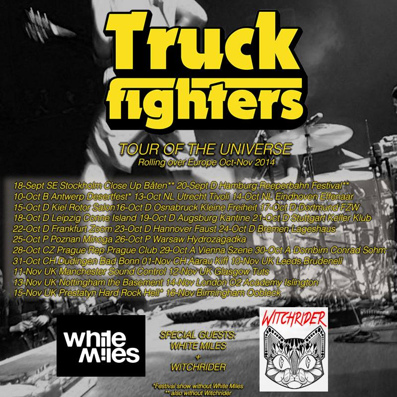 truckfighters euro tour