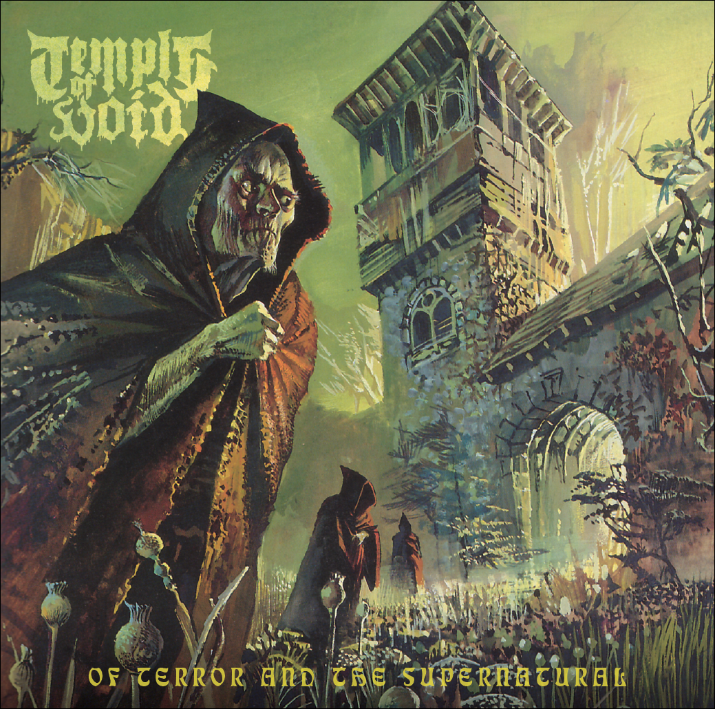 Temple Of Void - of Terror and the Supernatural - cover