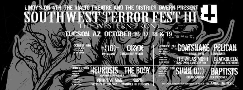 southwest terror fest iii banner