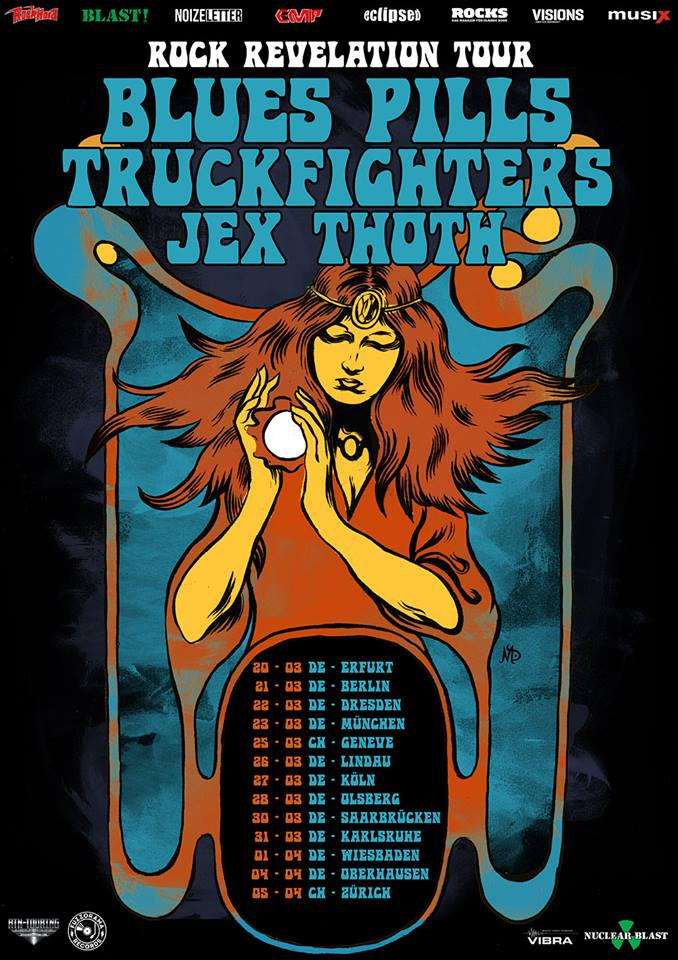 blues pills truckfighters jex thoth tour