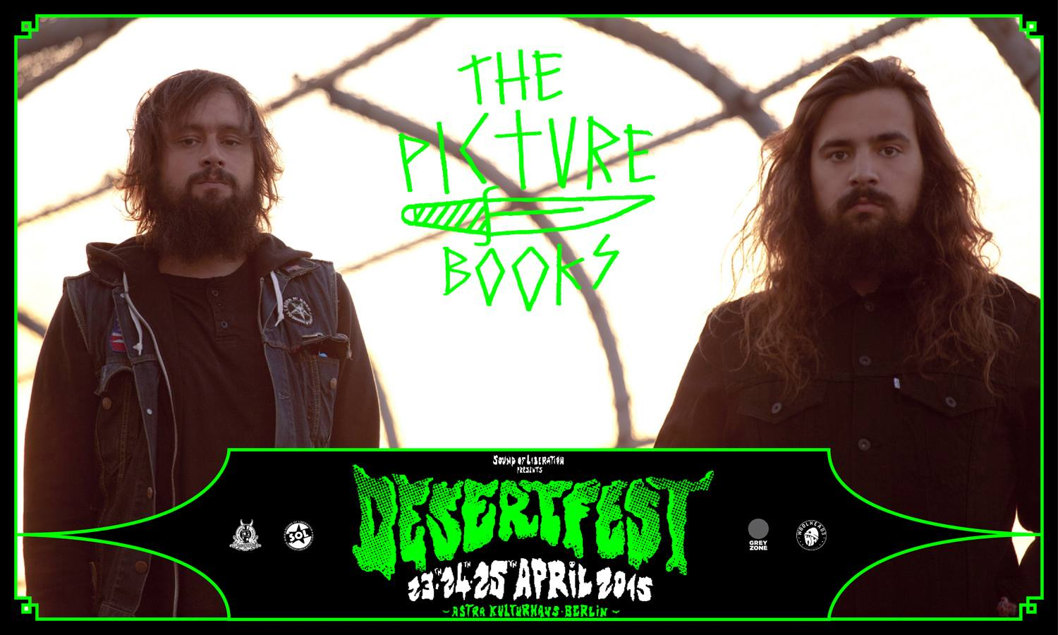 the picturebooks desertfest berlin 2015