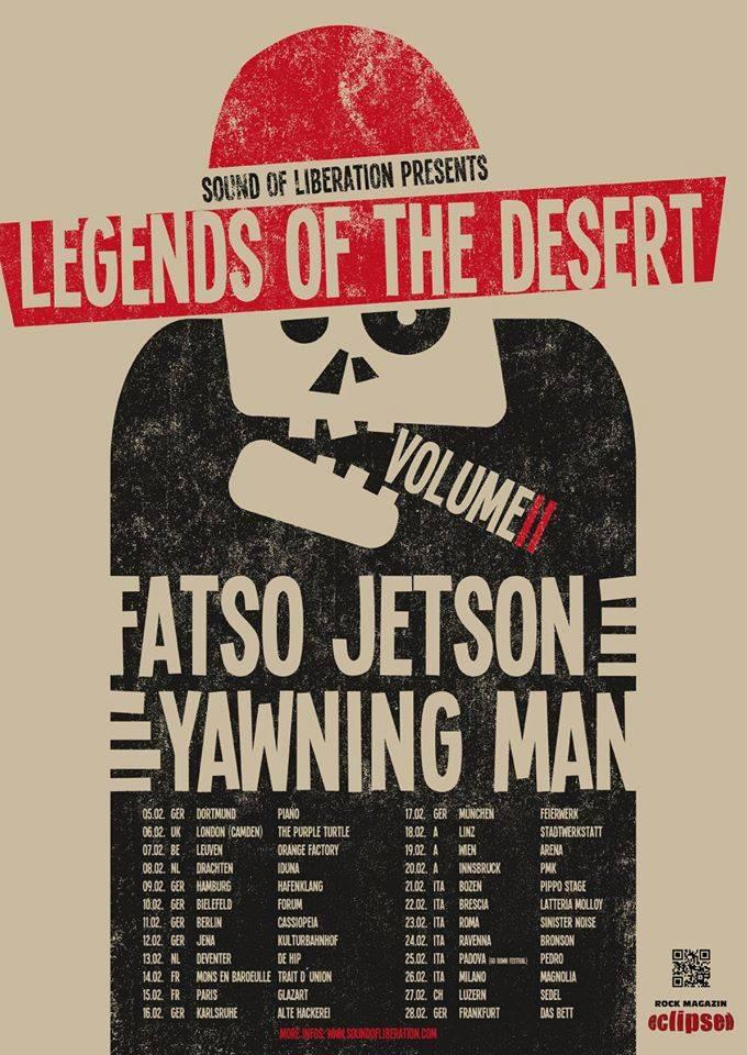 fatso jetson yawning man tour