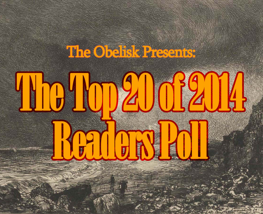 top 20 of 2014 readers poll (etching by maxime lalanne)