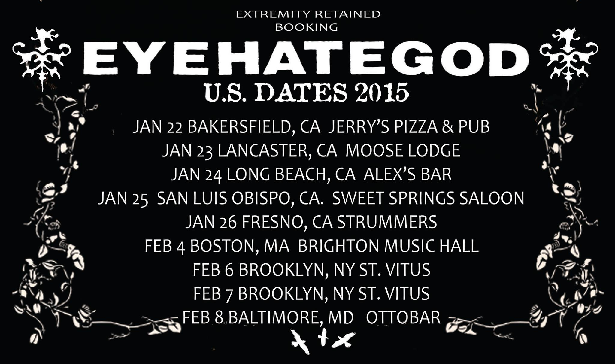 eyehategod tour