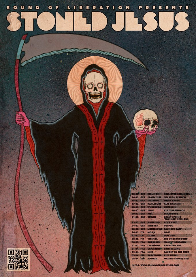 stoned jesus tour poster