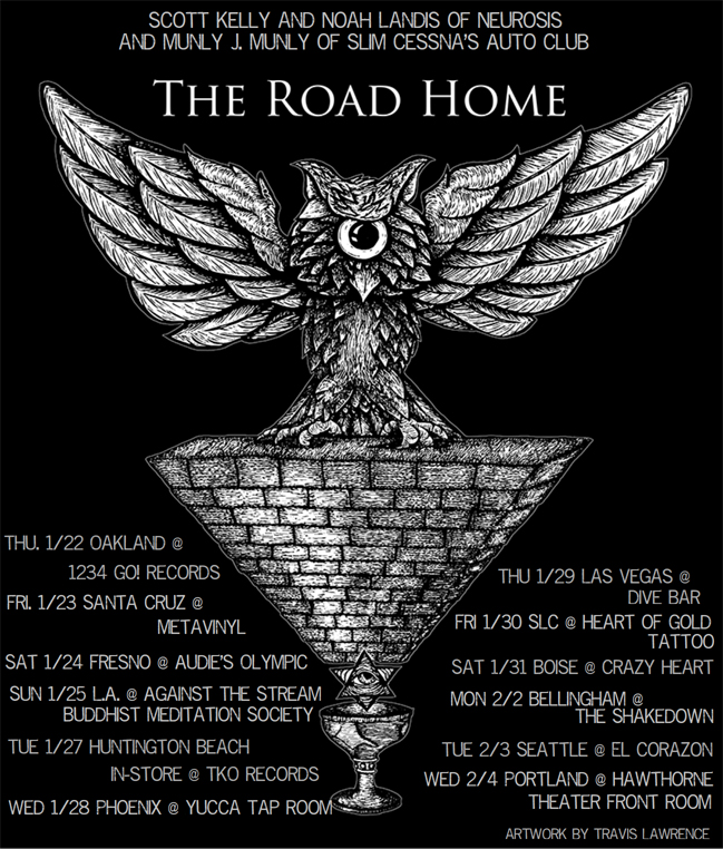 the road home tour poster