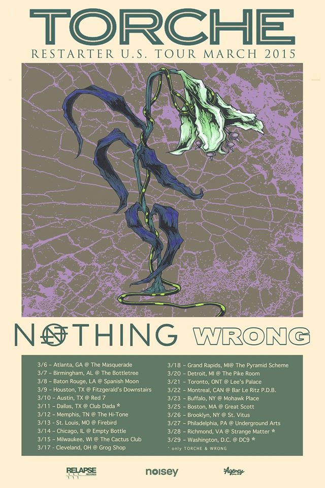 torche march tour