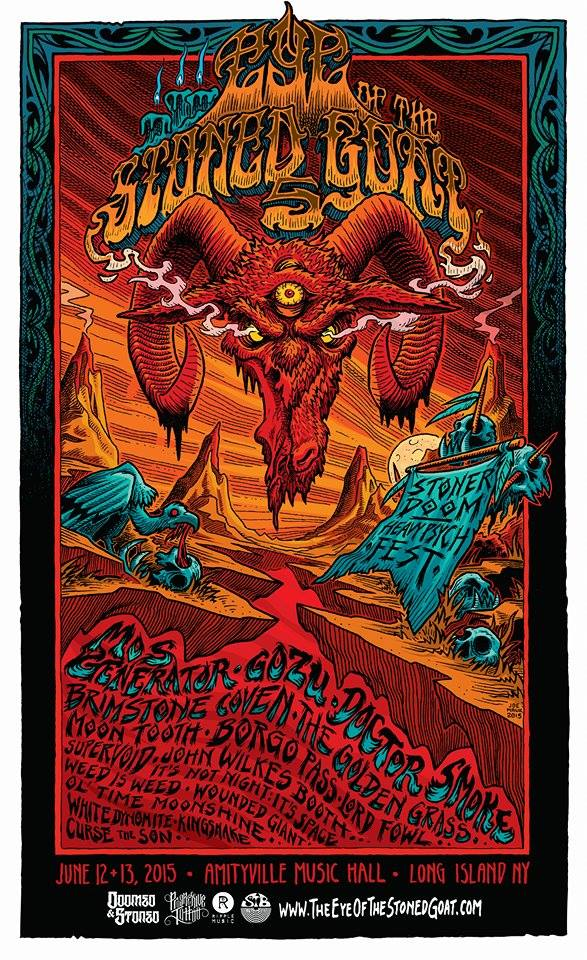 eye of the stoned goat 5 poster
