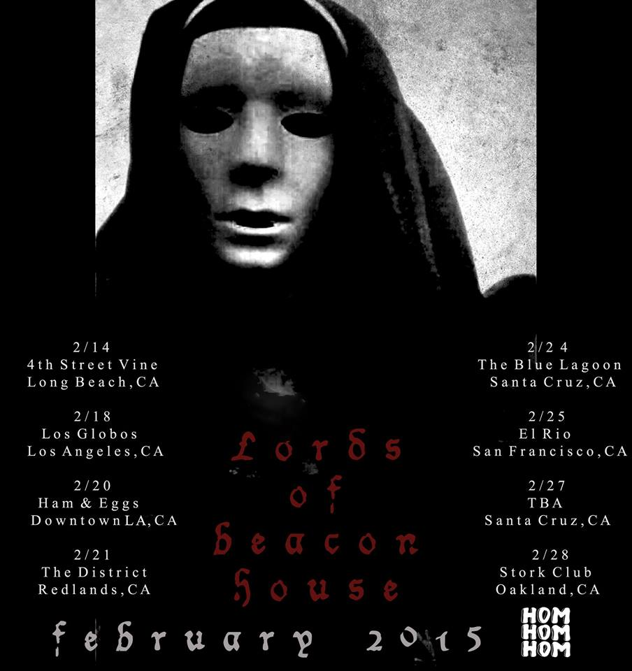 lords of beacon house tour poster