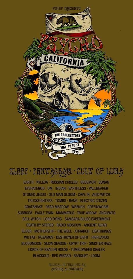 psycho california festival