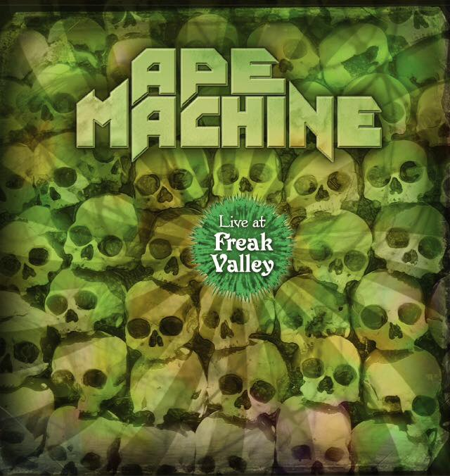 ape machine live at freak valley