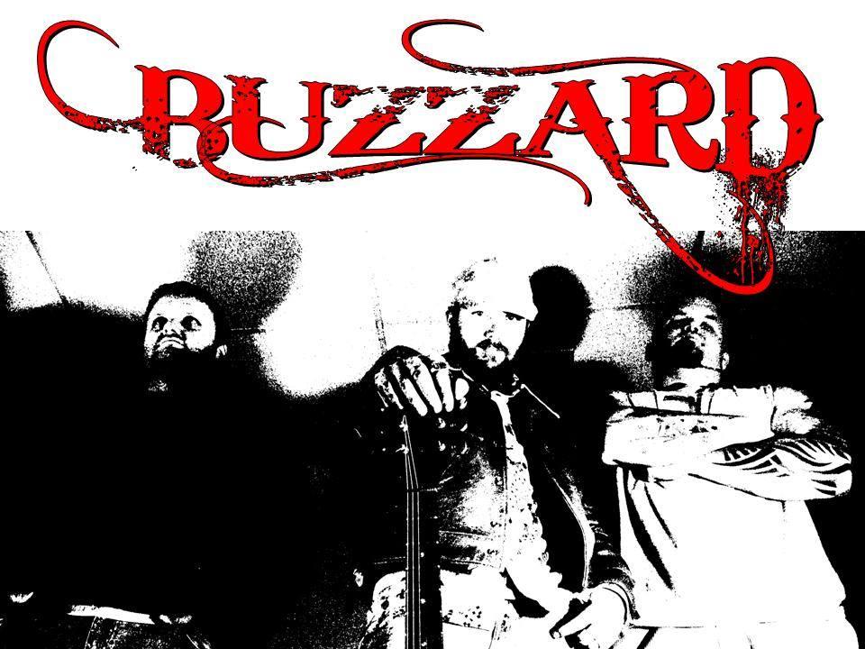 buzzard with logo