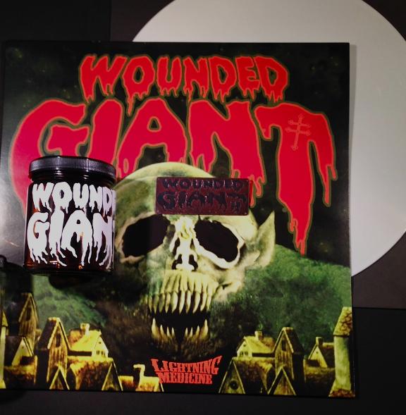 wounded giant lightning medicine vinyl