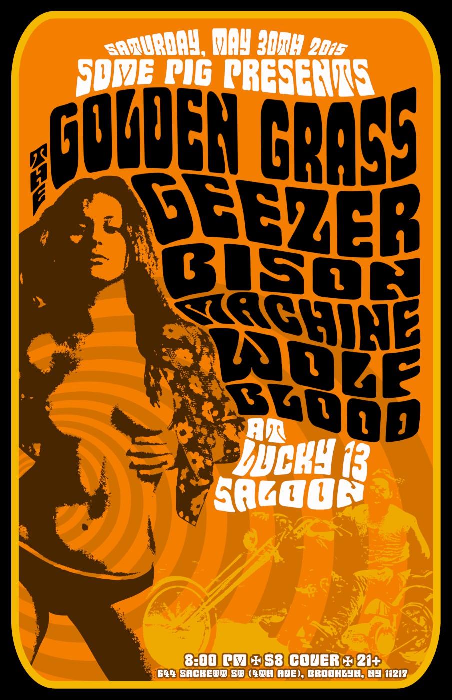 geezer brooklyn show poster
