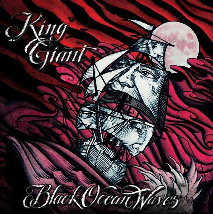 king giant black ocean waves