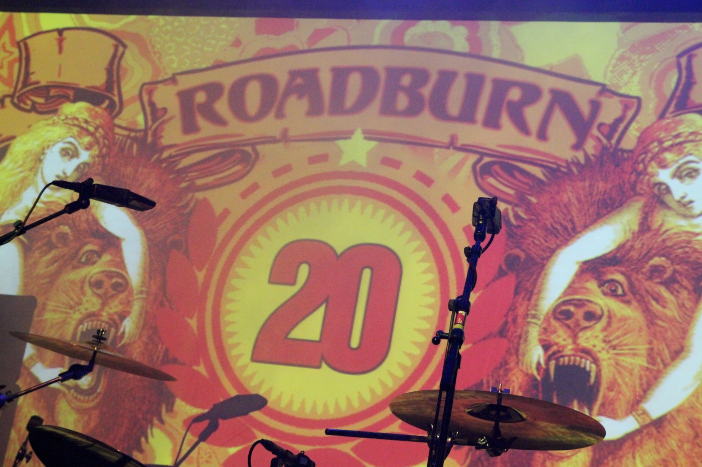 Roadburn 2015 banner. (Photo by JJ Koczan)