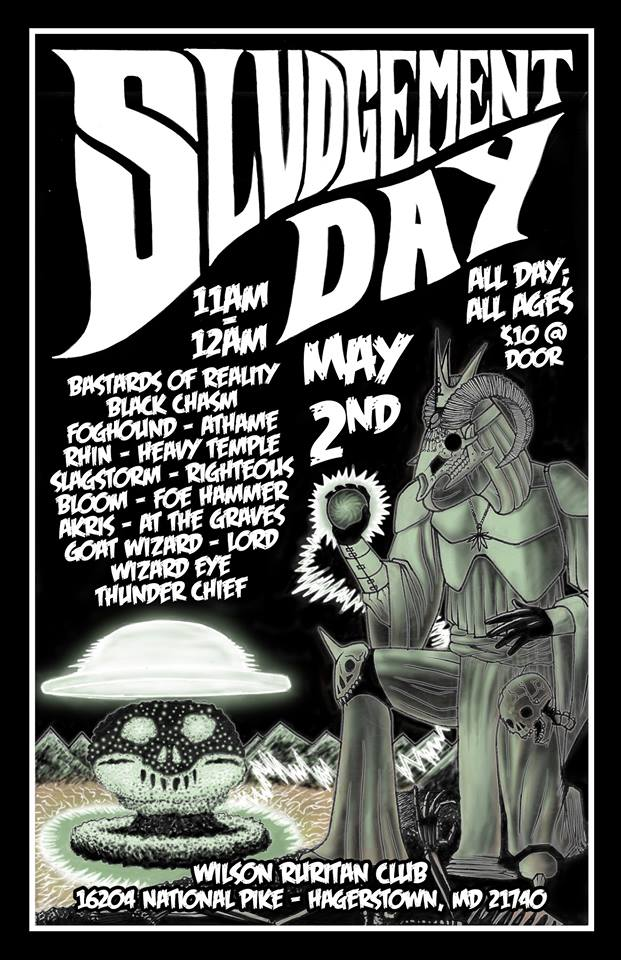 sludgement day poster