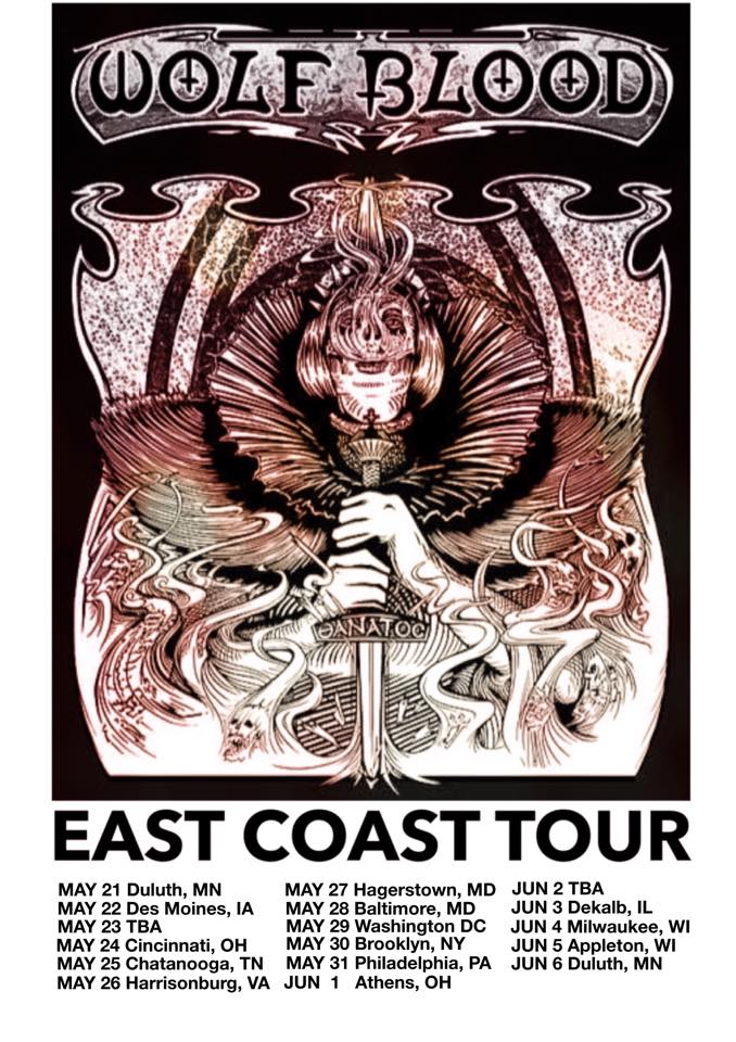 wolf blood tour poster 2