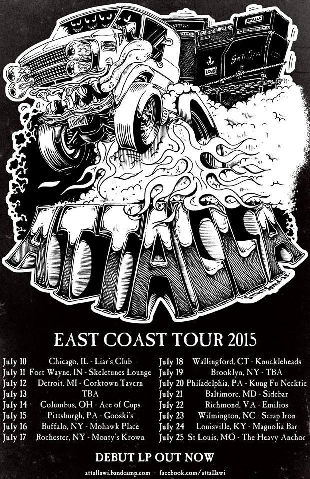 attalla tour poster