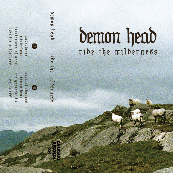 demon head ride the wilderness tape cover