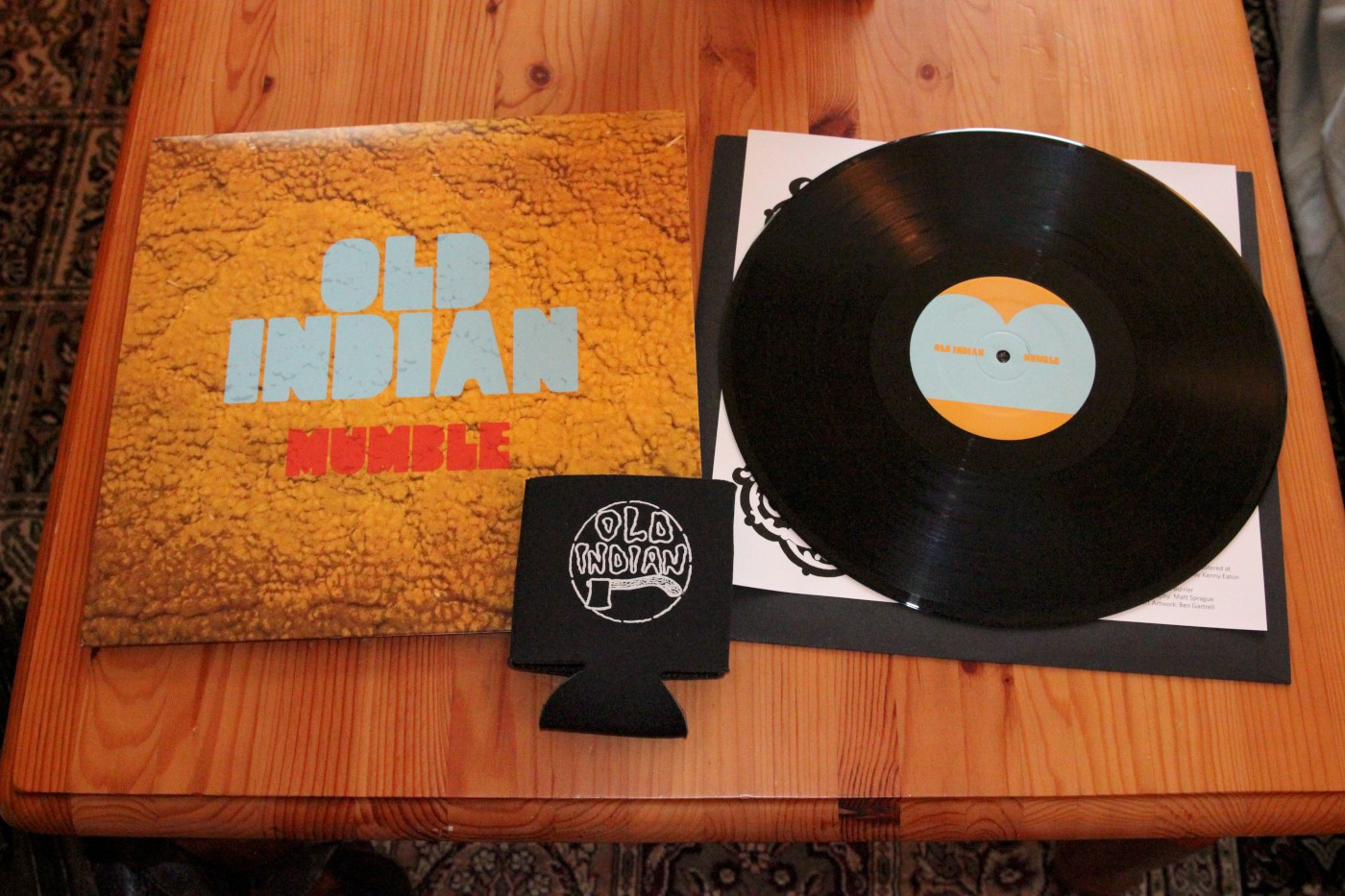 old indian mumble vinyl and package