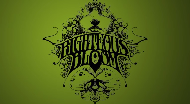 righteous bloom logo green background