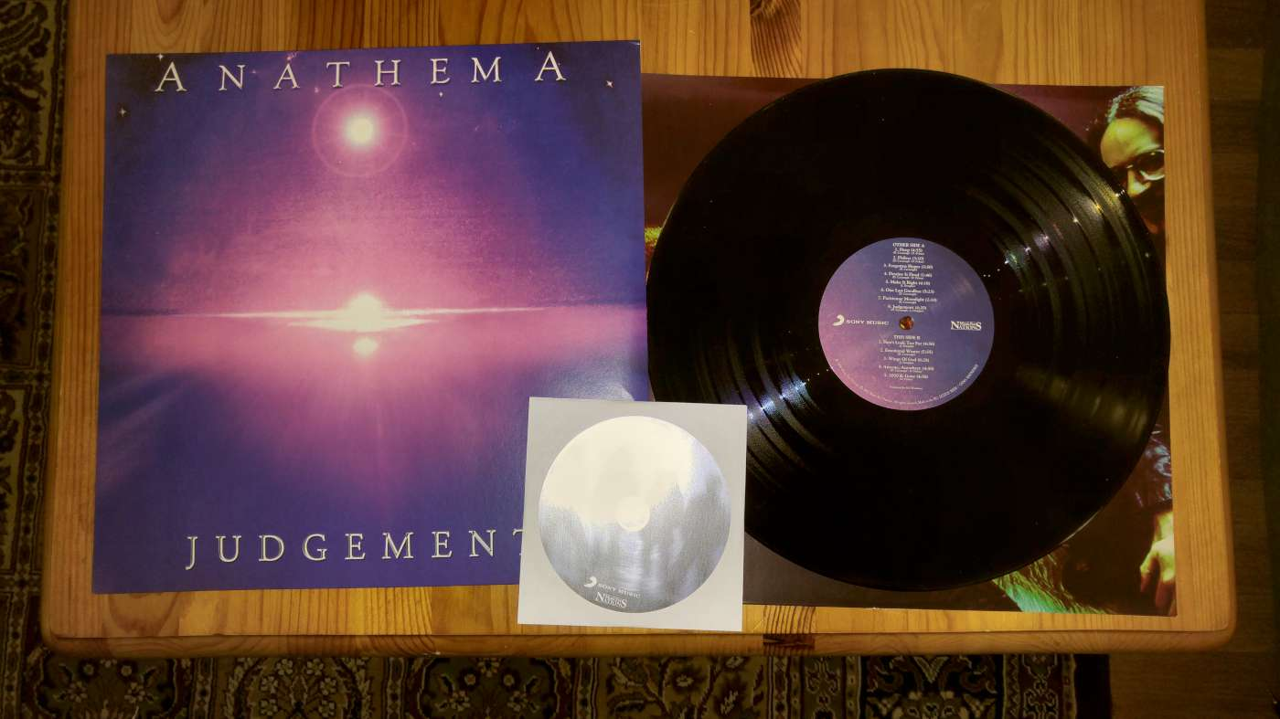 anathema judgement vinyl and cover