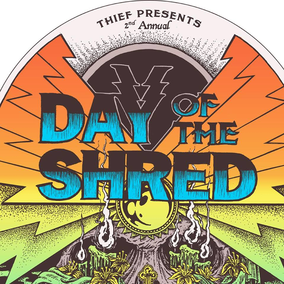 day of the shred banner