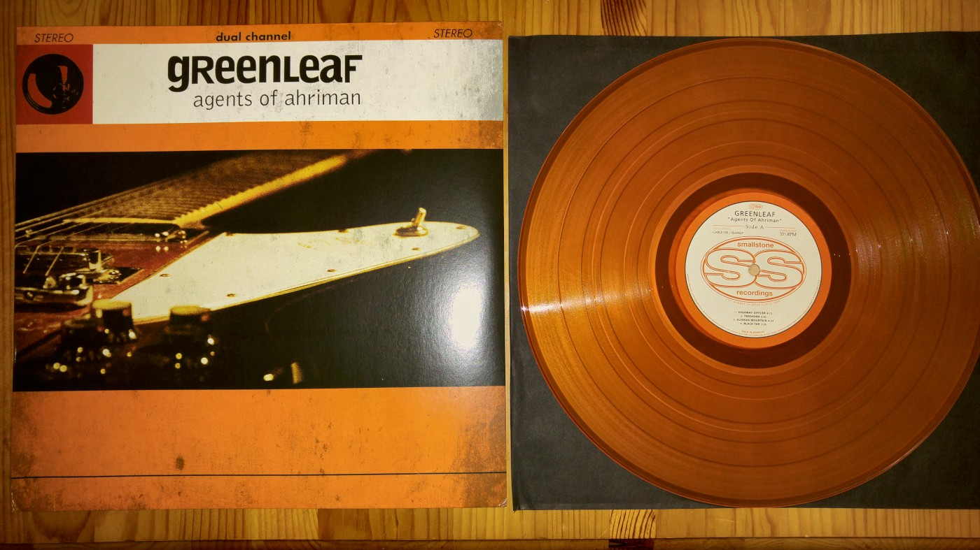 greenleaf agents of ahriman cover and lp