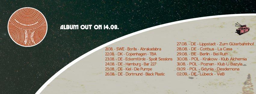 kaleidobolt tour dates