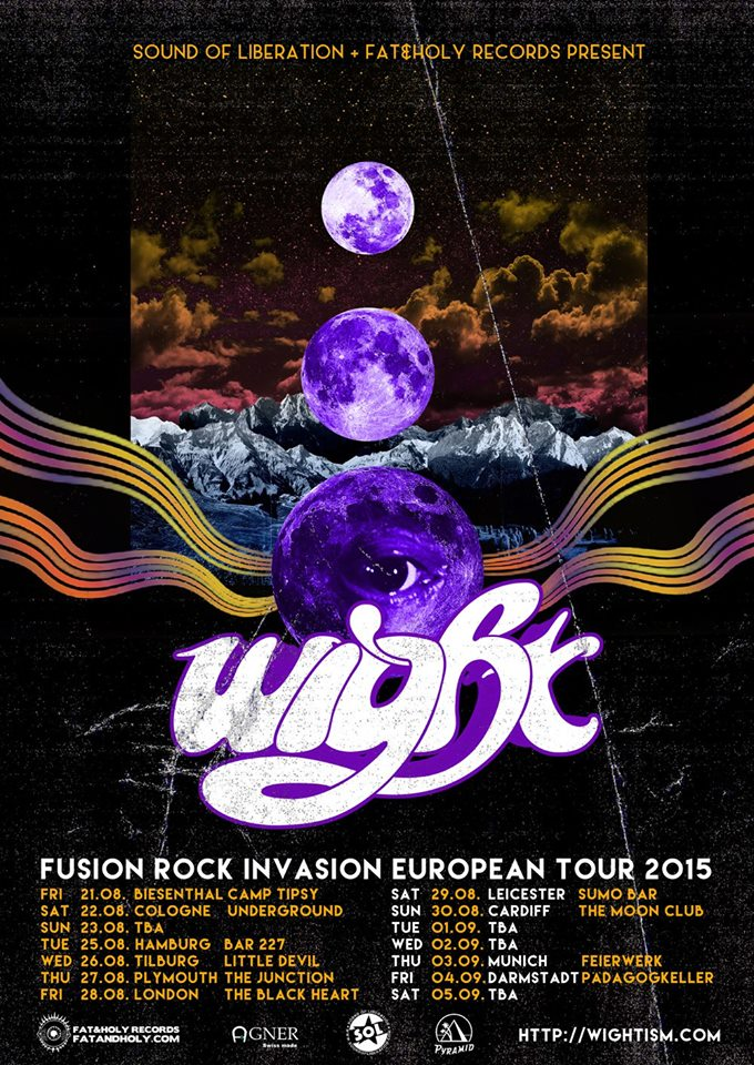 wight fusion rock invasion european tour 2015