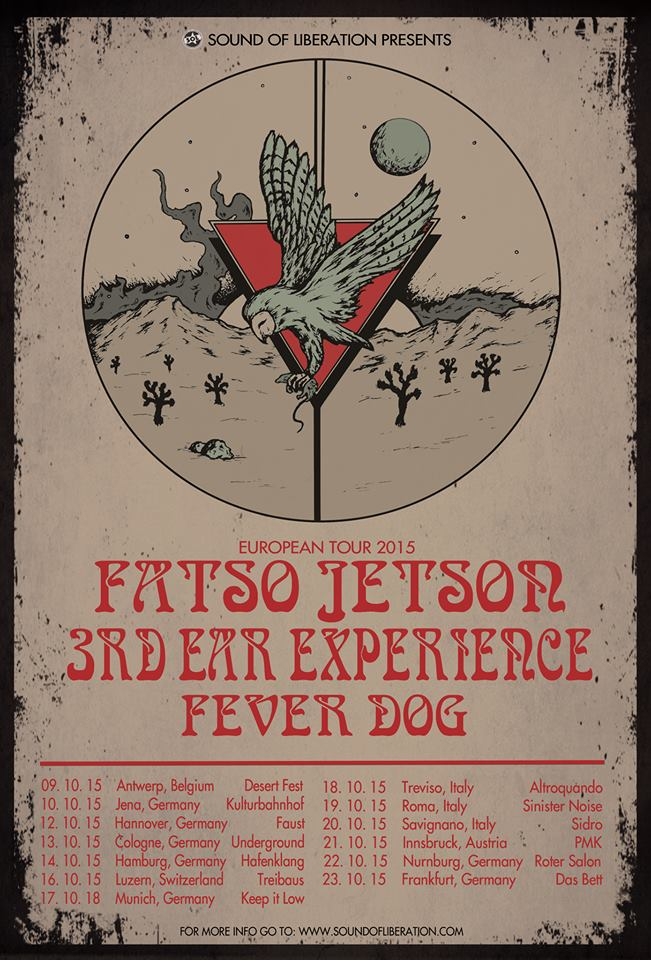 fatso jetson 3rd ear experience fever dog tour