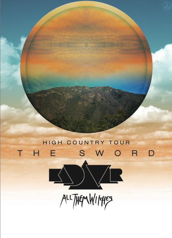 kadavar tour poster