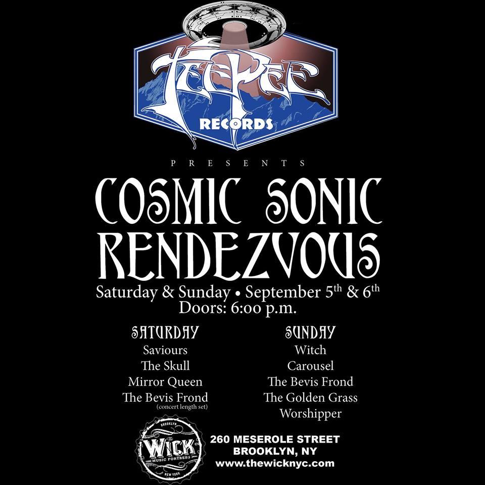 tee pee cosmic sonic rendezvous