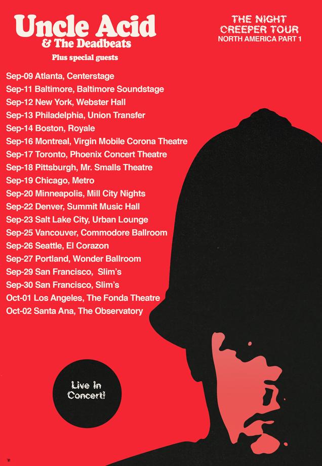 uncle acid tour dates
