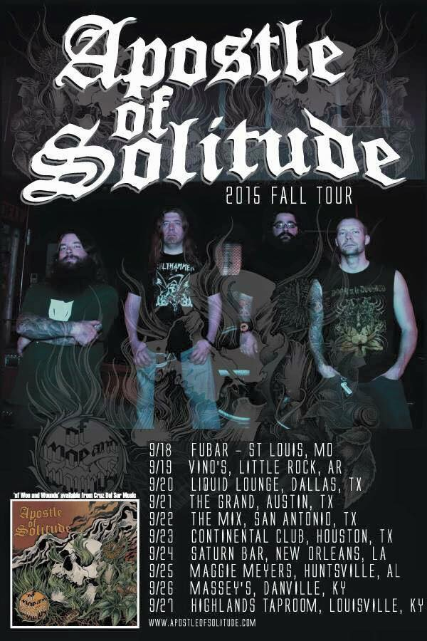 apostle of solitude southern tour