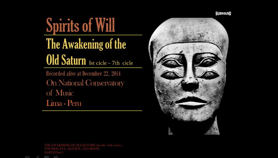 spirits of will the awakening of saturn