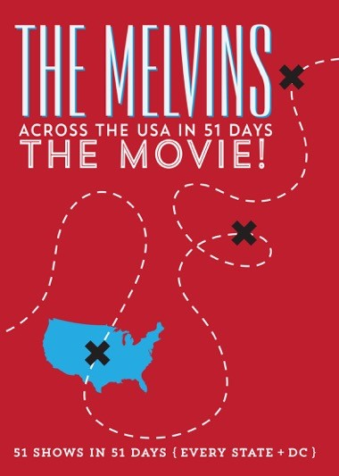 the melvins across the usa in 51 days