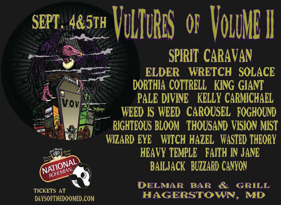vultures of volume ii poster