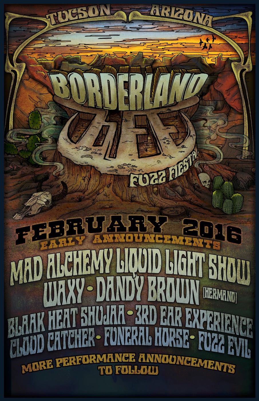 borderland fuzz fiesta 2016 replace